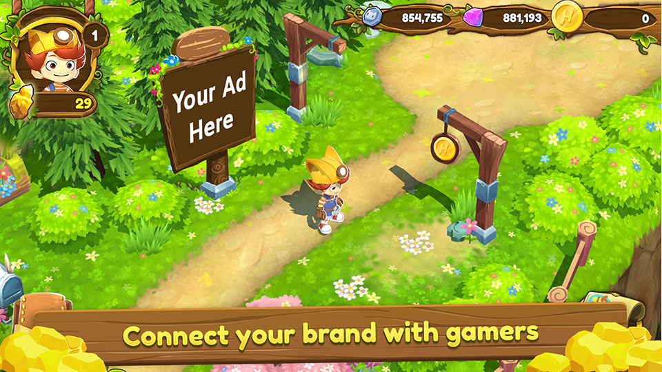 Connect your brand with gamers